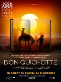Affiche de Don Quichotte (Royal Opera House)
