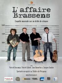 Affiche de L'Affaire Brassens - Concert