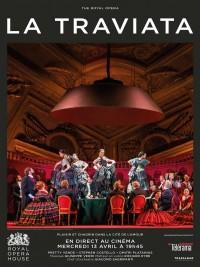Affiche de La Traviata (Royal Opera House)