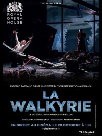 Affiche de La Walkyrie (Royal Opera House)