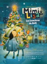Affiche de Mimi & Lisa, les lumières de Noël