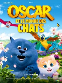 Affiche de Oscar et le monde des chats