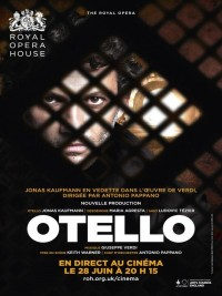 Affiche de Otello (Royal Opera House)
