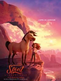 Affiche de Spirit : l'indomptable