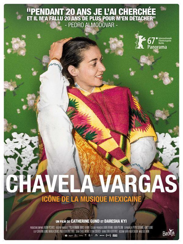 Affiche de Chavela Vargas