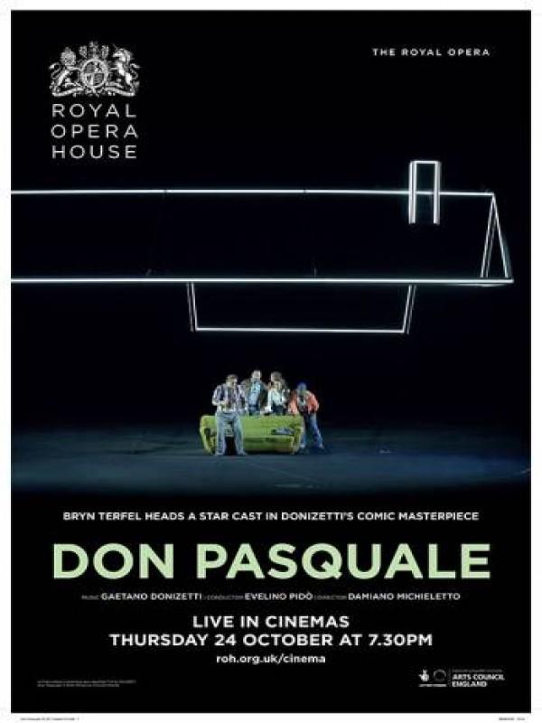 Affiche de Don Pasquale (Royal Opera House)