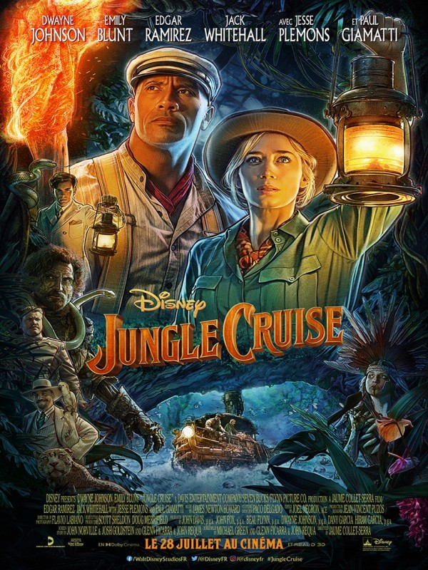 Affiche de Jungle Cruise