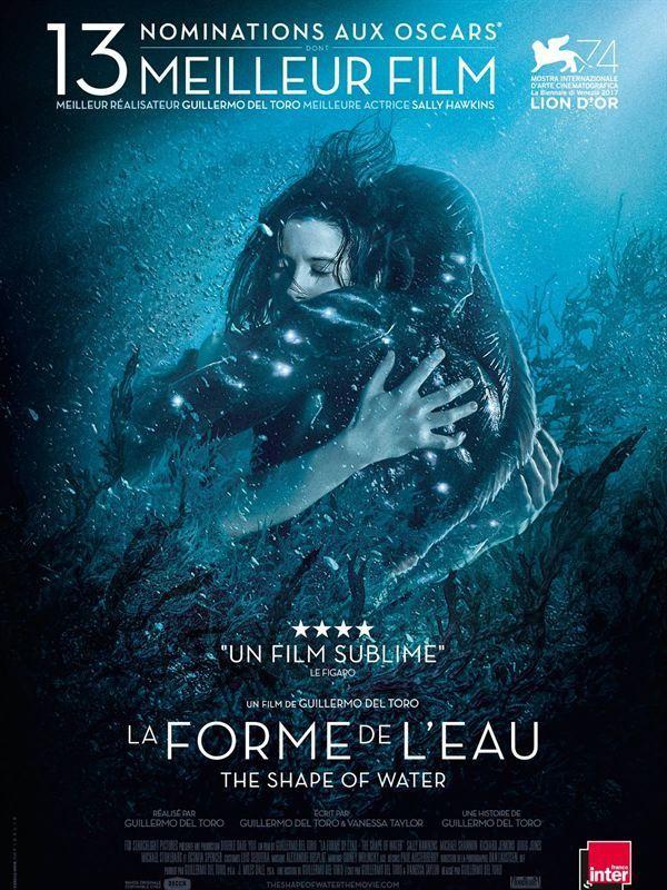 Affiche de La Forme de l'eau