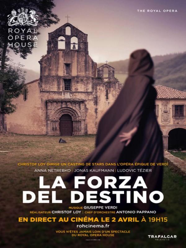 Affiche de La Forza del Destino (Royal Opera House)