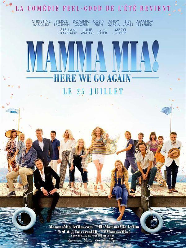 Affiche de Mamma Mia! Here We Go Again
