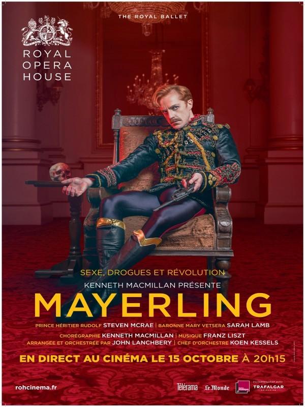 Affiche de Mayerling (Royal Opera House)