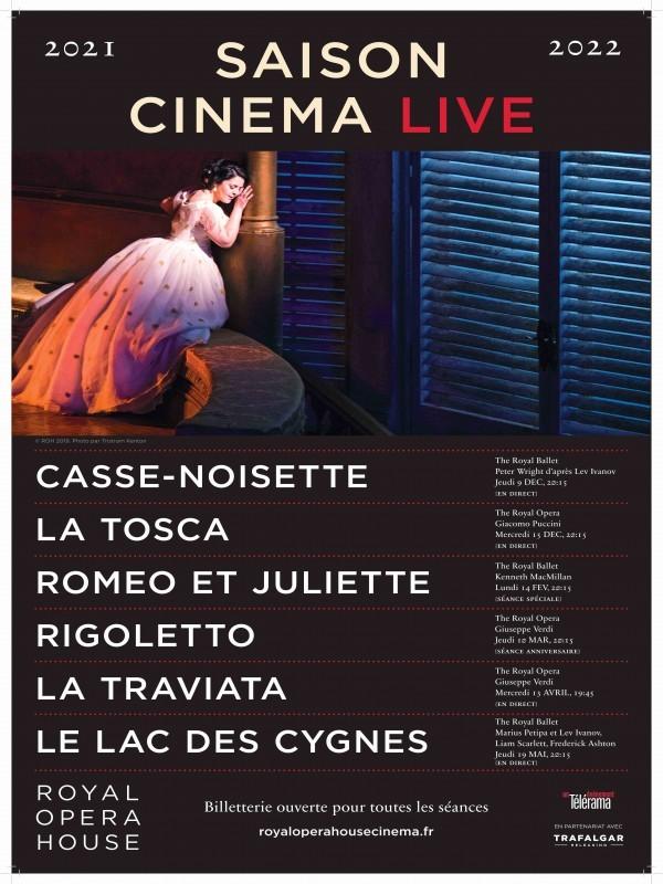 Affiche de Rigoletto (Royal Opera House)