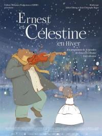Affiche de Ernest et Célestine en hiver