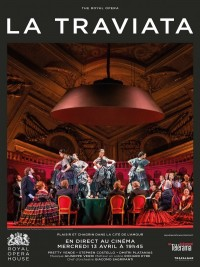 Affiche de La Traviata (Royal Opera House)