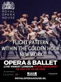 Affiche de Within the Golden Hour / Nouveau Cherkaoui / Flight Pattern (Royal Opera House)
