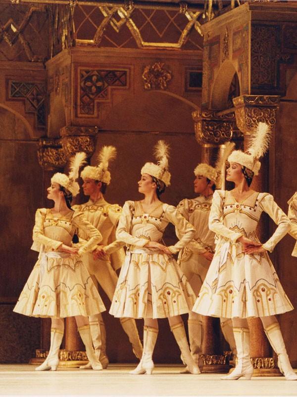 Affiche de Concerto / Variations Enigma / Raymonda Acte III (Royal Opera House)