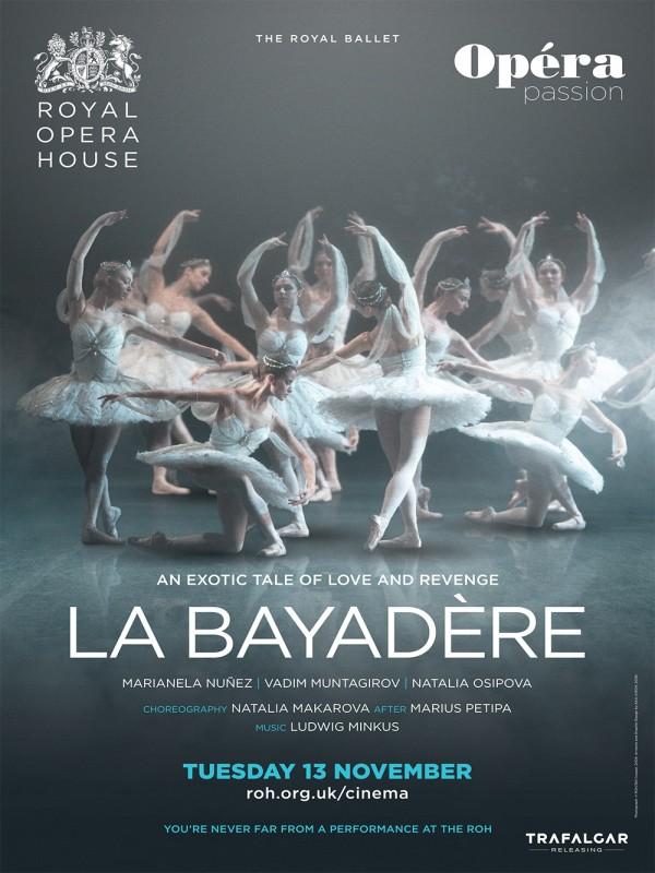 Affiche de La Bayadère (Royal Opera House)
