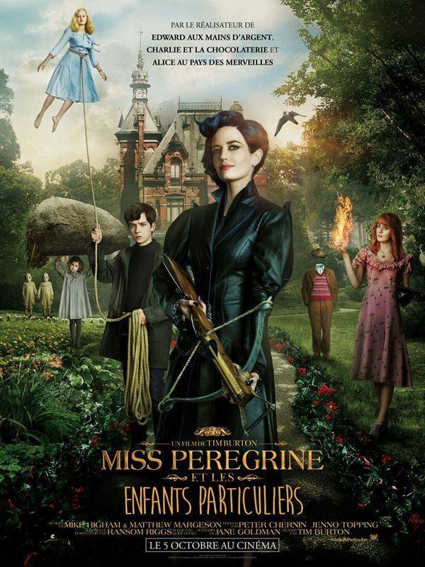 Affiche de Miss Peregrine et les enfants particuliers