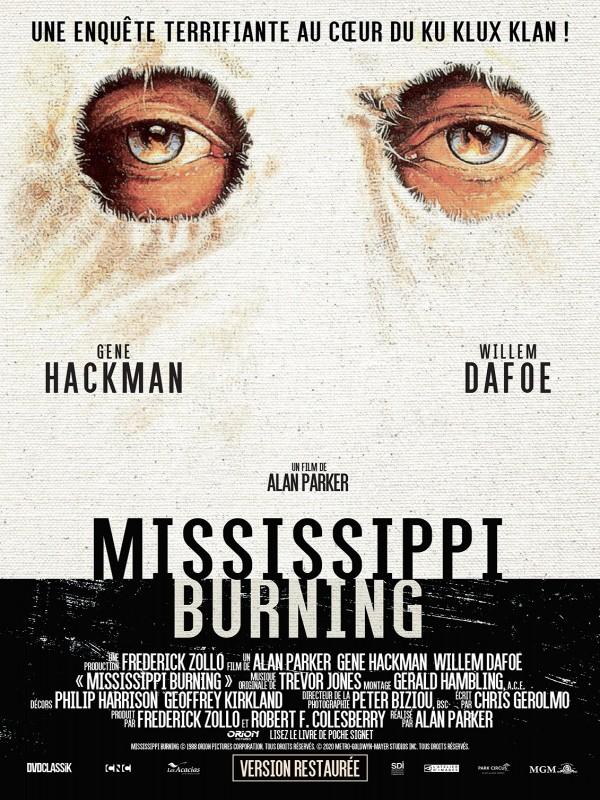 Affiche de Mississippi Burning