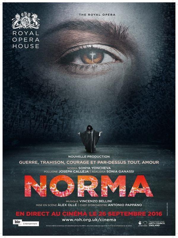 Affiche de Norma (Royal Opera House)