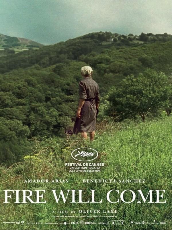 Affiche de Viendra le feu